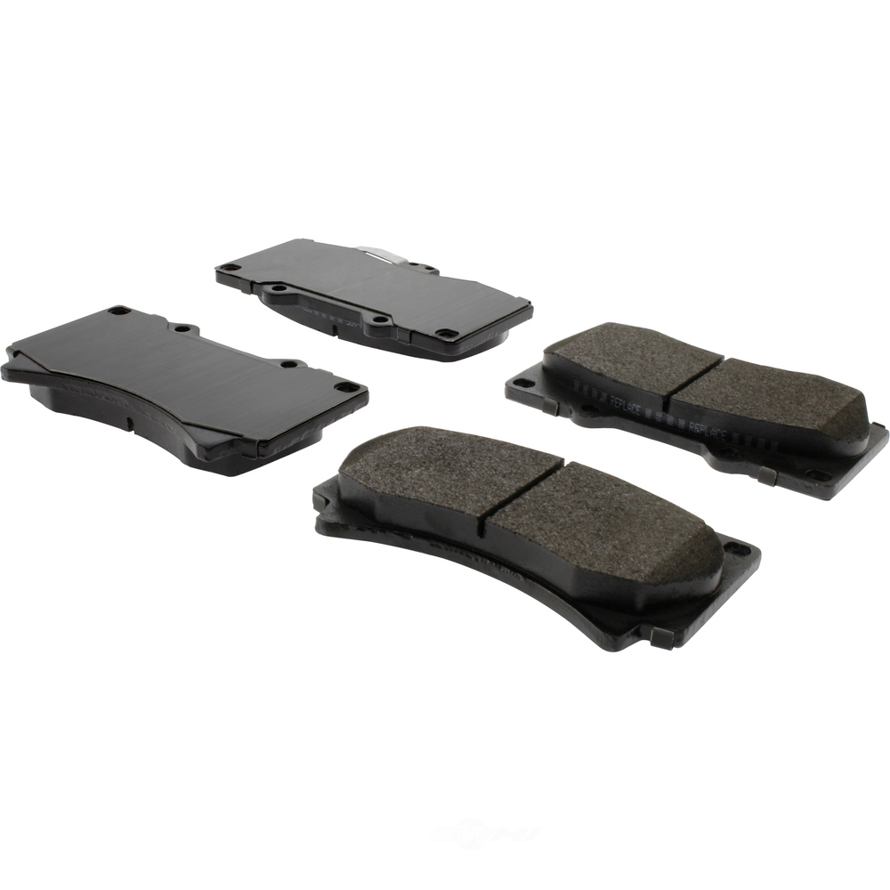 CENTRIC PARTS - Posi-Quiet Extended Wear Disc Brake Pad w/Shims & Hardware (Front) - CEC 106.11190