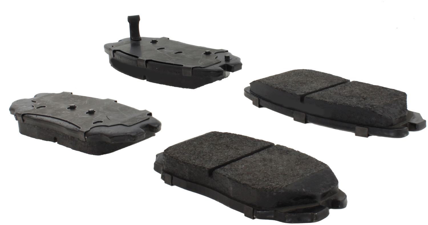 CENTRIC PARTS - Posi-Quiet Extended Wear Disc Brake Pad w/Shims & Hardware-Preferred (Front) - CEC 106.11251