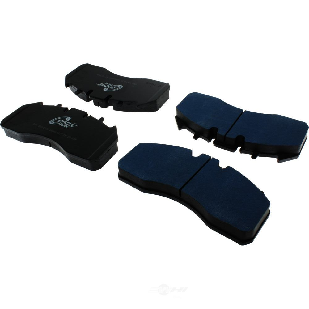 CENTRIC PARTS - Posi-Quiet Extended Wear Disc Brake Pad w/Shims & Hardware-Preferred - CEC 106.13110