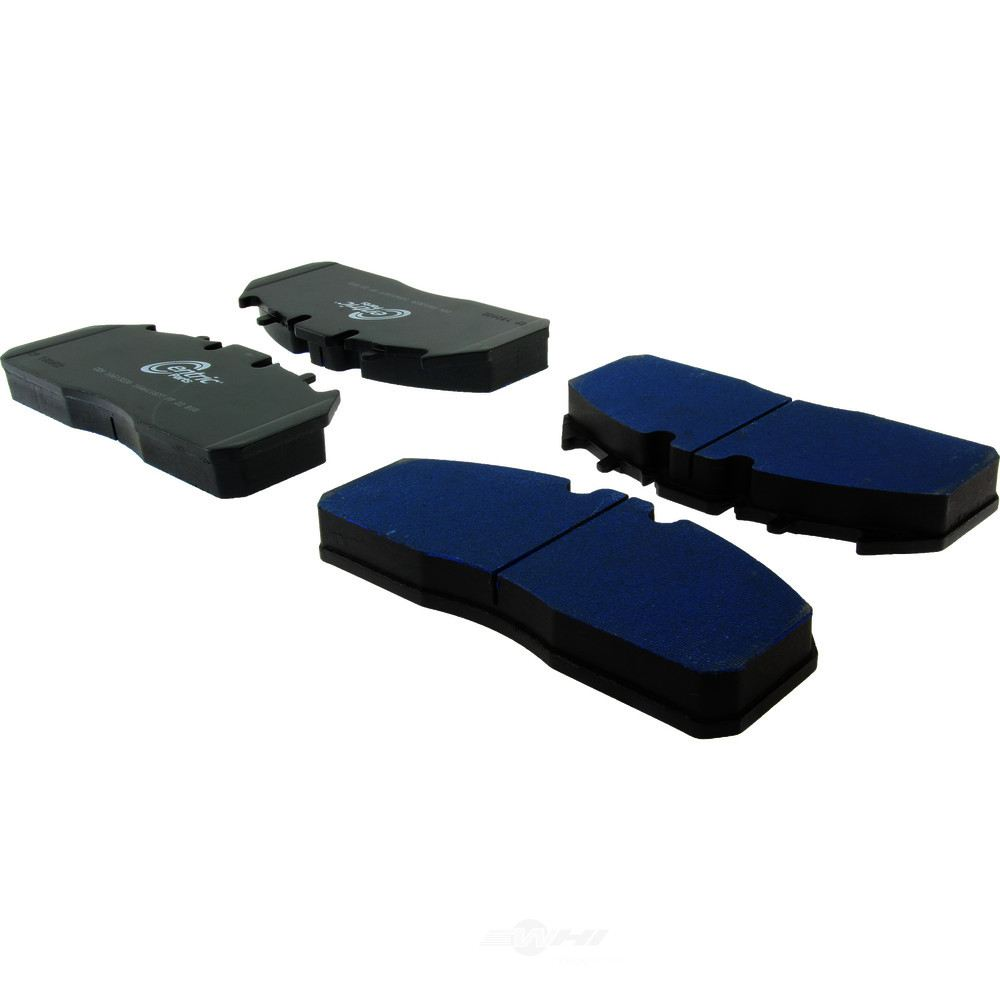 CENTRIC PARTS - Posi-Quiet Extended Wear Disc Brake Pad w/Shims-Preferred - CEC 106.13230