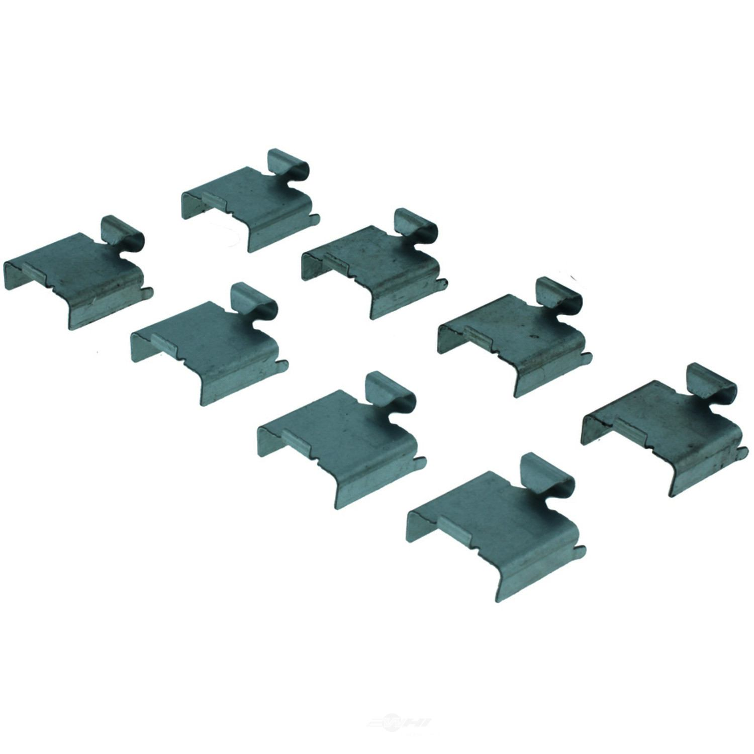 CENTRIC PARTS - Posi-Quiet Extended Wear Disc Brake Pad w/Shims & Hardware-Preferred (Front) - CEC 106.13280