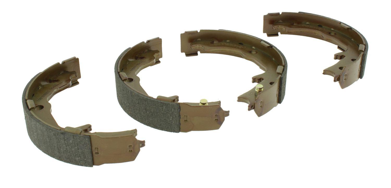 CENTRIC PARTS - Premium Brake Shoes-Preferred (Rear) - CEC 111.08861