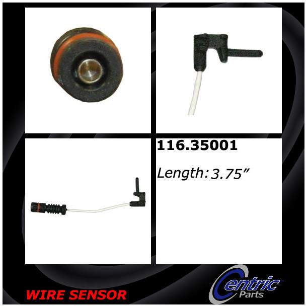 CENTRIC PARTS - Brake Pad Sensor Wires - CEC 116.35001