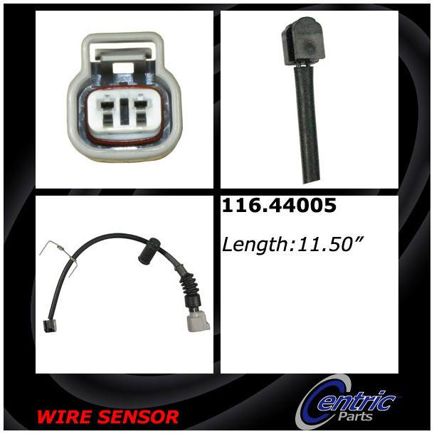 CENTRIC PARTS - Disc Brake Pad Wear Sensor (Front) - CEC 116.44005