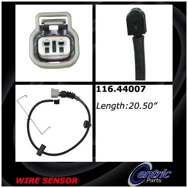 CENTRIC PARTS - Centric Premium Brake Pad Sensor Wires - CEC 116.44007
