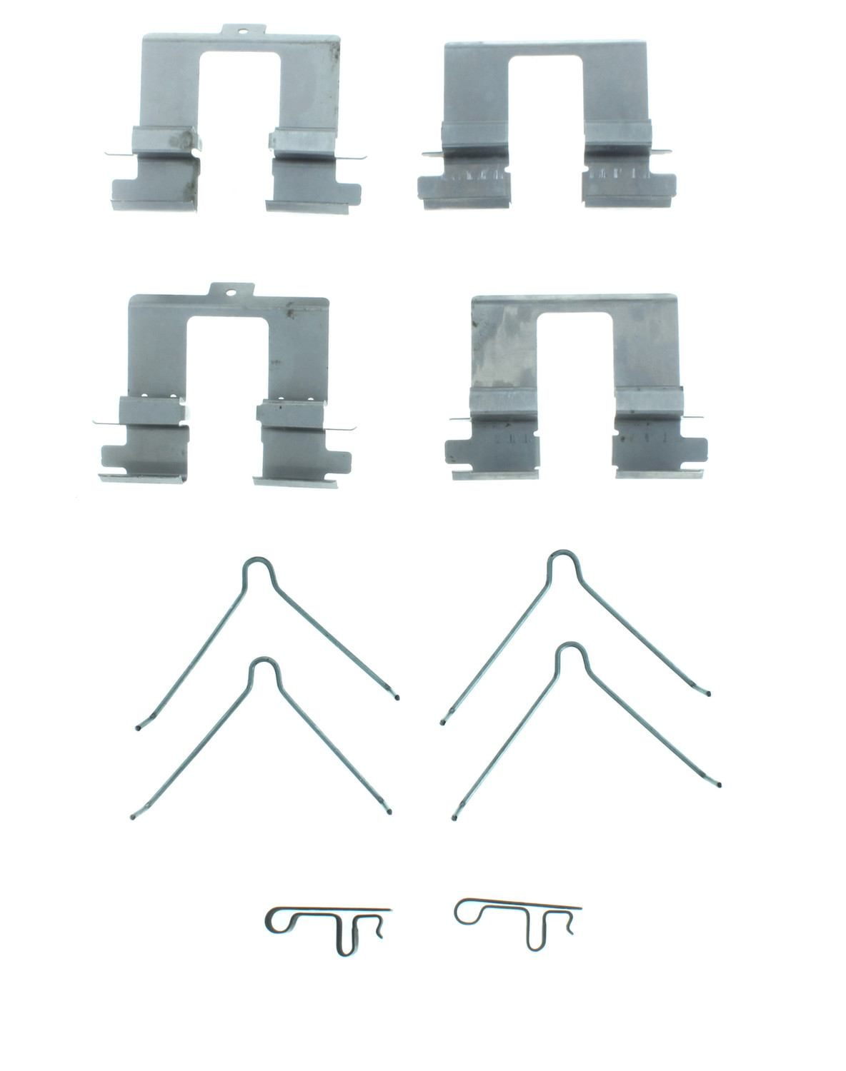 CENTRIC PARTS - Disc Brake Hardware (Rear) - CEC 117.40054
