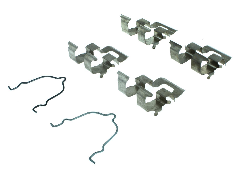 CENTRIC PARTS - Disc Brake Hardware (Rear) - CEC 117.45015