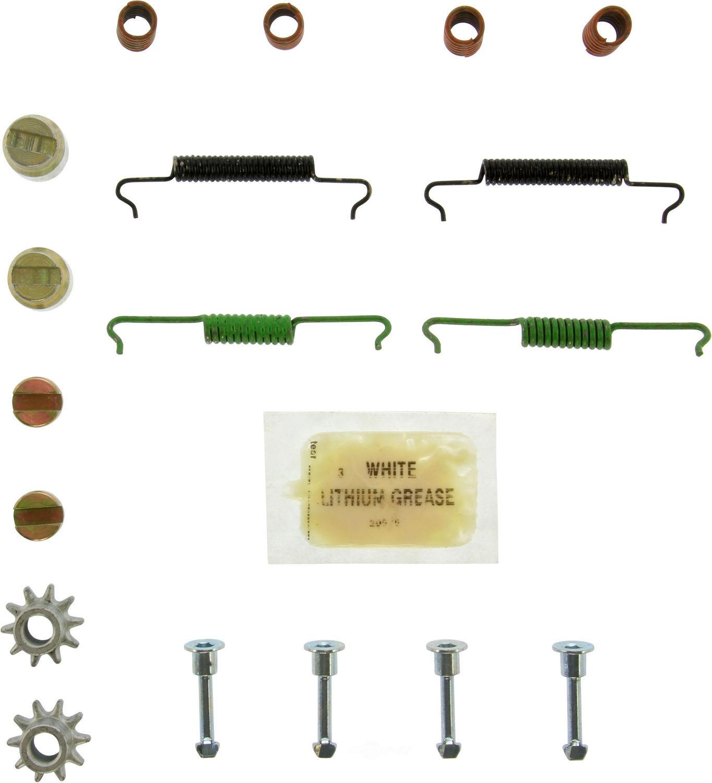 CENTRIC PARTS - Drum Brake Hardware (Rear) - CEC 118.34005