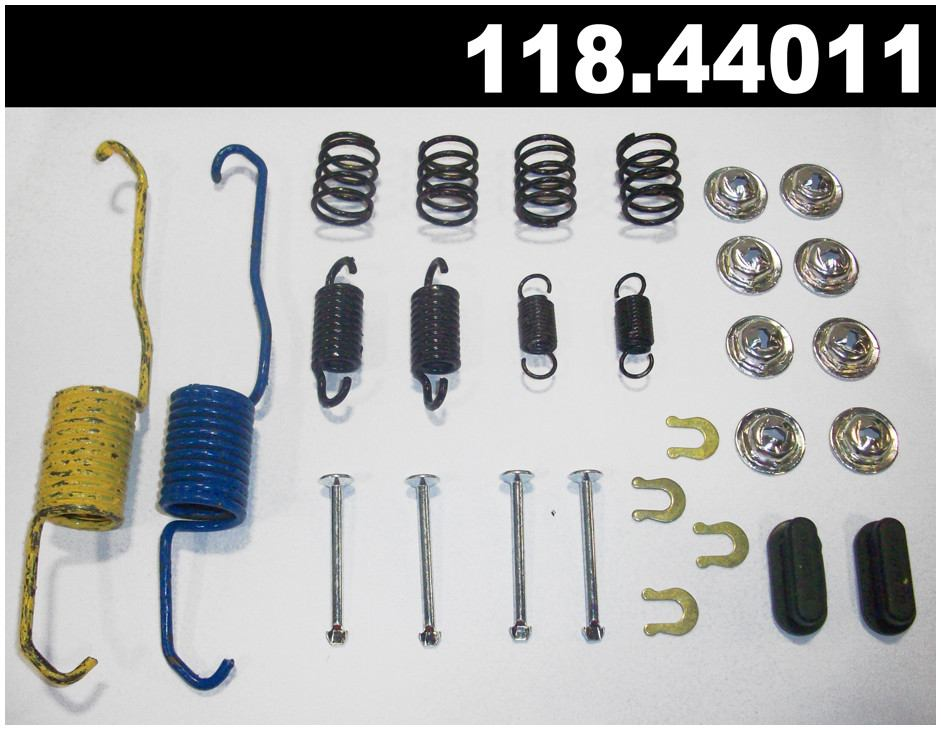 CENTRIC PARTS - Centric Premium Drum Brake Hardware Kits (Rear) - CEC 118.44011