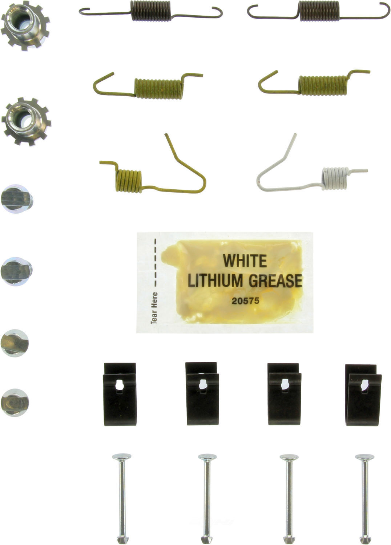 CENTRIC PARTS - Drum Brake Hardware (Rear) - CEC 118.44040