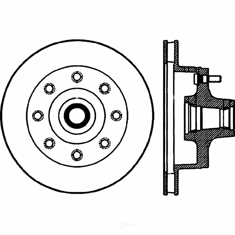 CENTRIC PARTS - Centric Premium Wheel & Hub Components - CEC 124.65002