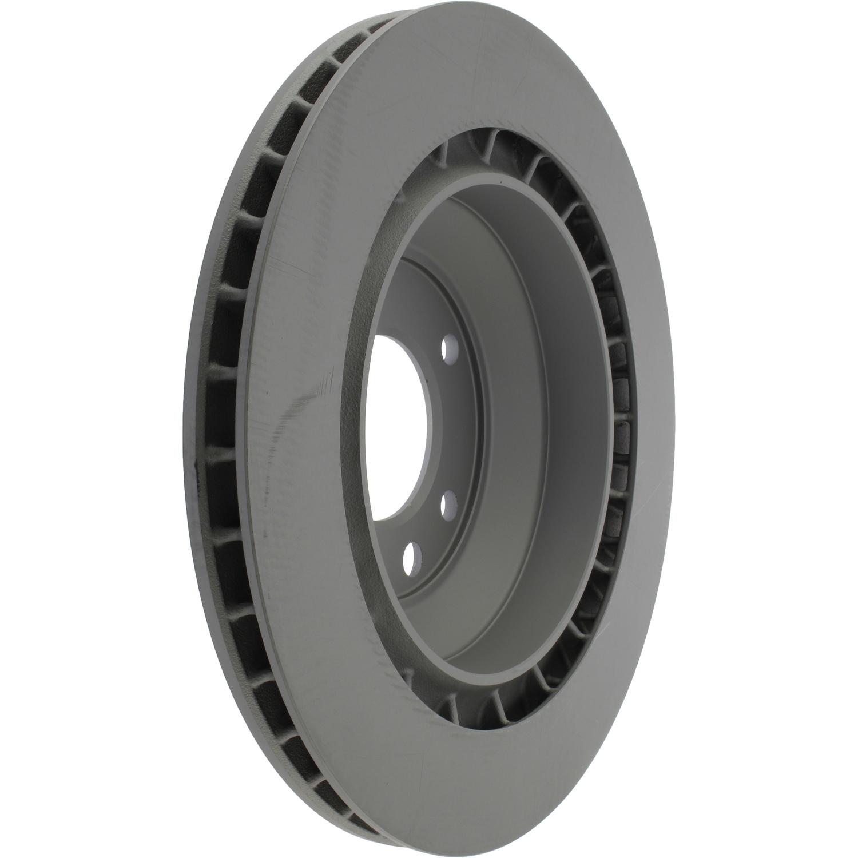 CENTRIC PARTS - High Carbon Alloy Brake Disc-Preferred (Rear) - CEC 125.37044