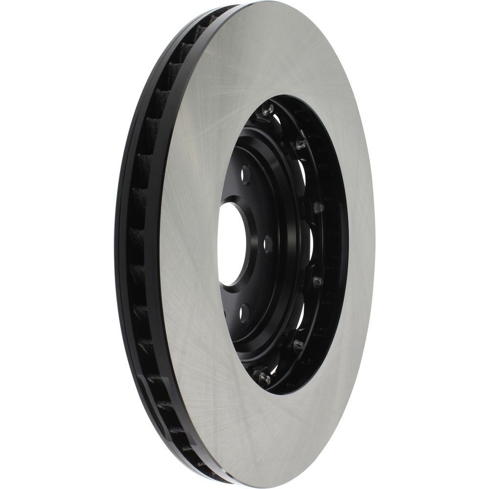 CENTRIC PARTS - High Carbon Alloy Brake Disc-Preferred (Front Right) - CEC 125.62165