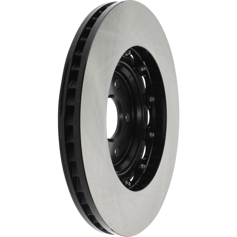 CENTRIC PARTS - High Carbon Alloy Brake Disc-Preferred (Front Left) - CEC 125.62166