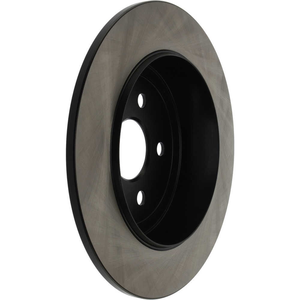 CENTRIC PARTS - Centric High Carbon Alloy Disc Brake Rotors (Rear) - CEC 125.63043