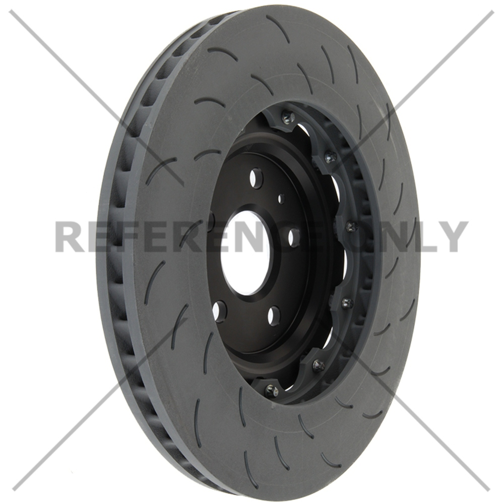 CENTRIC PARTS - OE Type Slotted Brake Disc-Preferred (Front Right) - CEC 126.62165