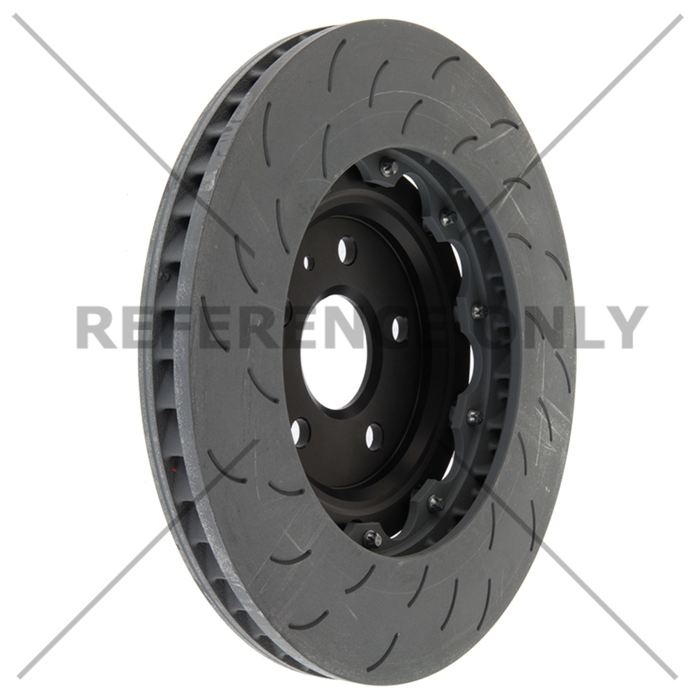 CENTRIC PARTS - OE Type Slotted Brake Disc-Preferred (Front Left) - CEC 126.62166