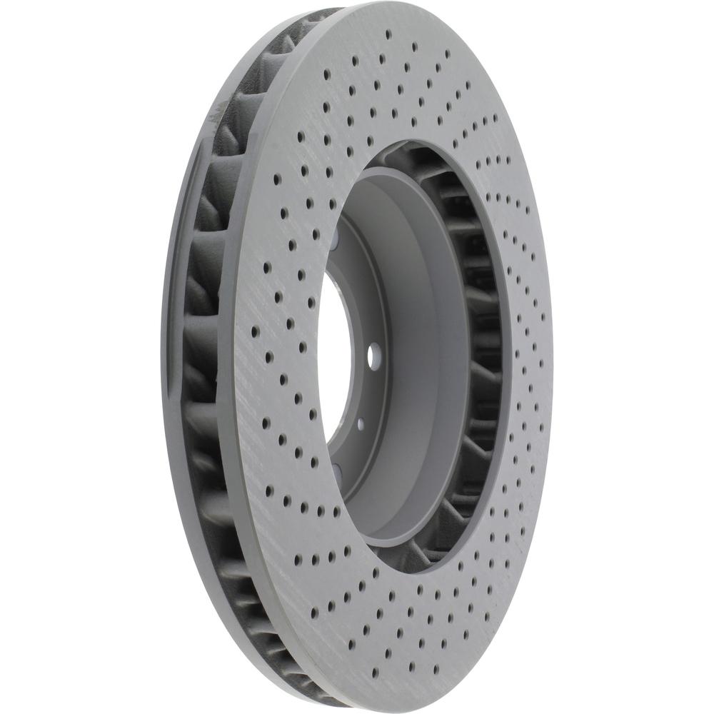 CENTRIC PARTS - Centric Premium OE Style Cross-Drilled Disc Brake Rotors - CEC 128.37037