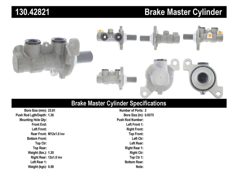 Centric Parts Brake Caliper Rebuild Kit 143.42043