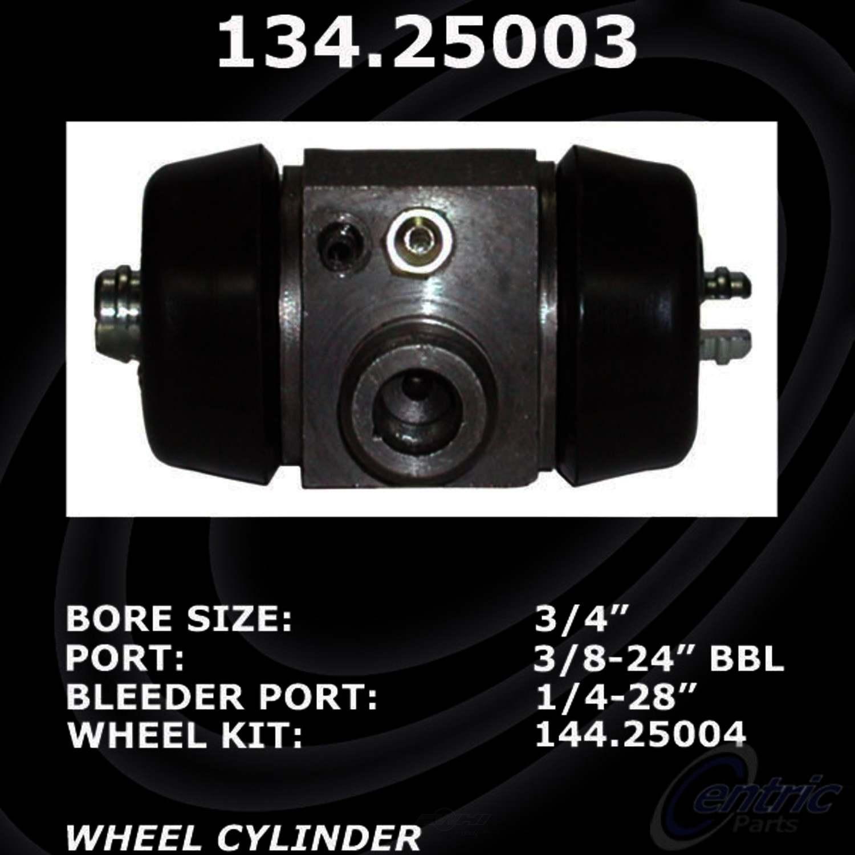 CENTRIC PARTS - Premium Wheel Cylinder-Preferred - CEC 134.25003