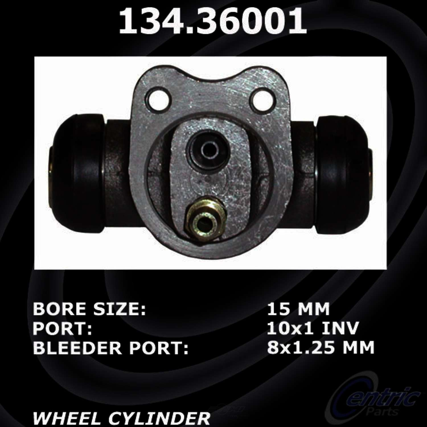 CENTRIC PARTS - Premium Wheel Cylinder-Preferred (Rear) - CEC 134.36001