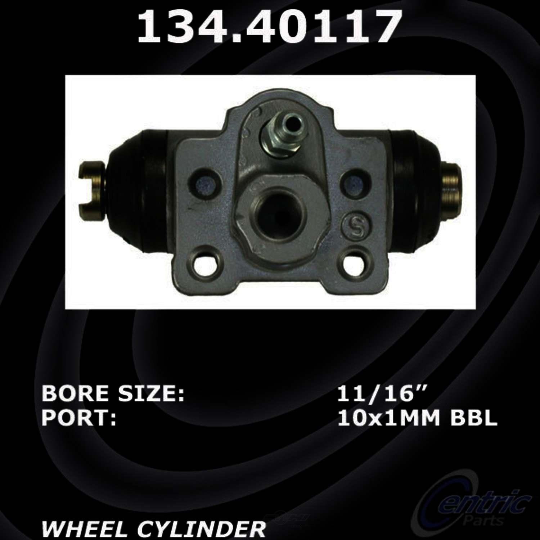 CENTRIC PARTS - Premium Wheel Cylinder-Preferred (Rear Right) - CEC 134.40117