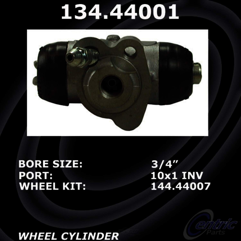 CENTRIC PARTS - Premium Wheel Cylinder-Preferred (Rear Left) - CEC 134.44001