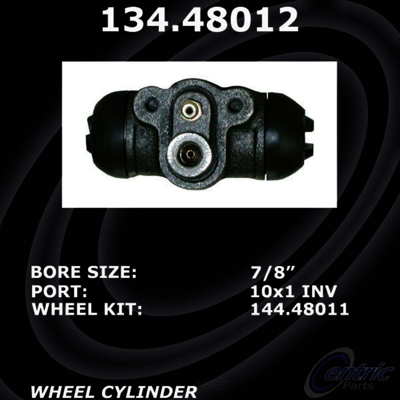 CENTRIC PARTS - Premium Wheel Cylinder-Preferred (Rear Left) - CEC 134.48012