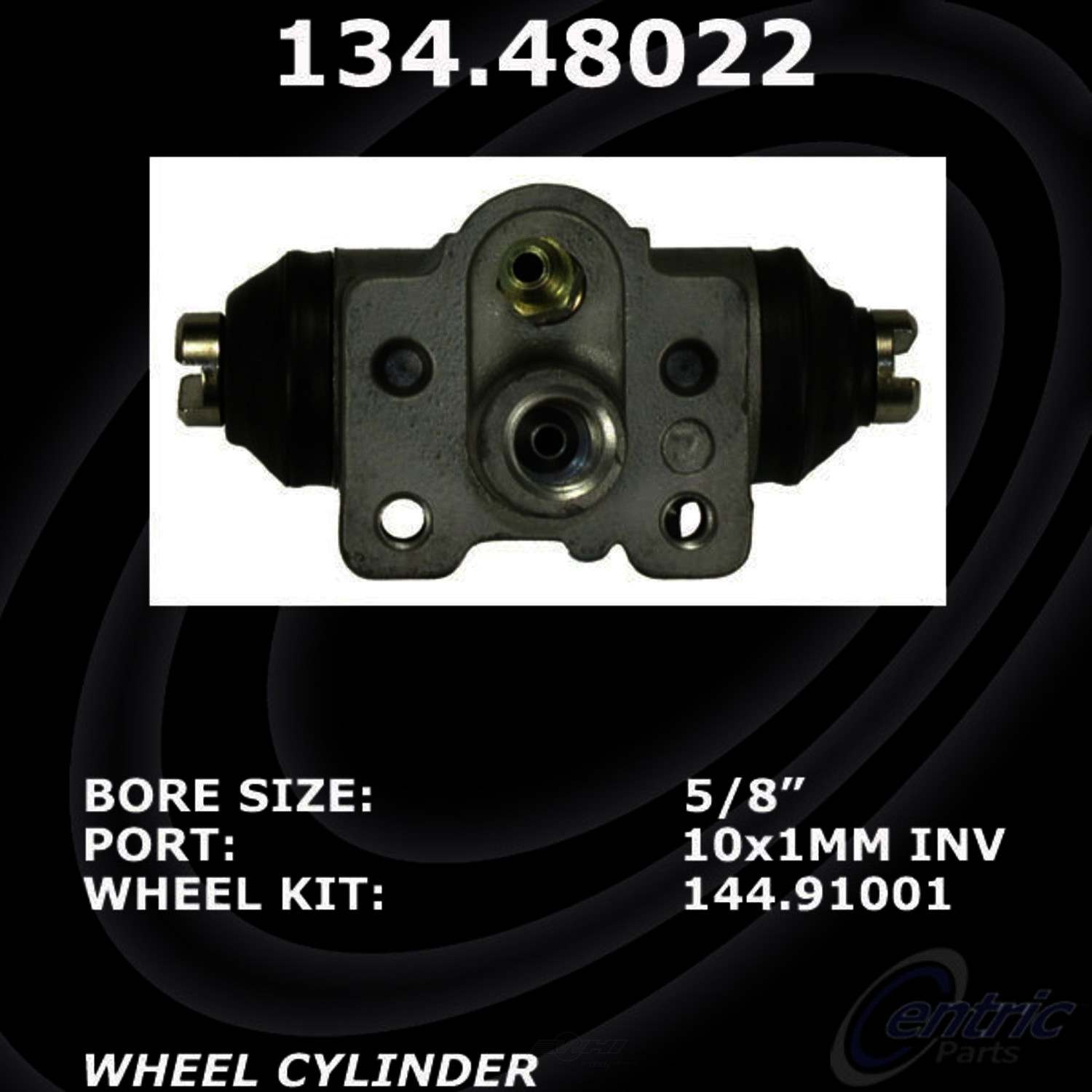 CENTRIC PARTS - Premium Wheel Cylinder-Preferred (Rear Left) - CEC 134.48022