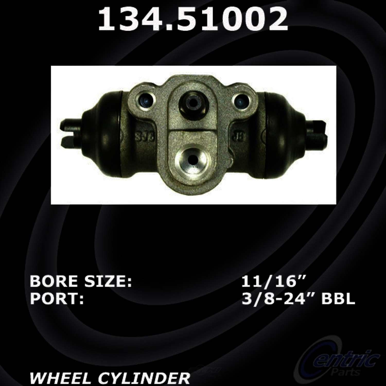 CENTRIC PARTS - Premium Wheel Cylinder-Preferred (Rear) - CEC 134.51002