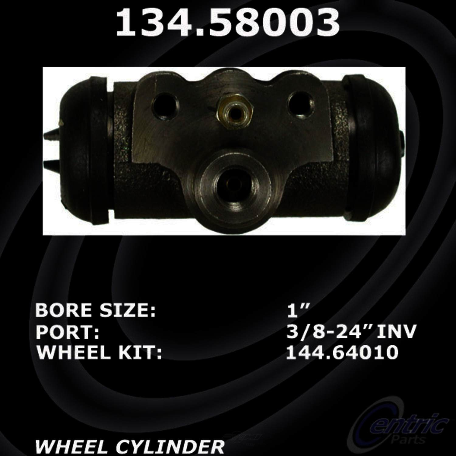 CENTRIC PARTS - Premium Wheel Cylinder-Preferred - CEC 134.58003
