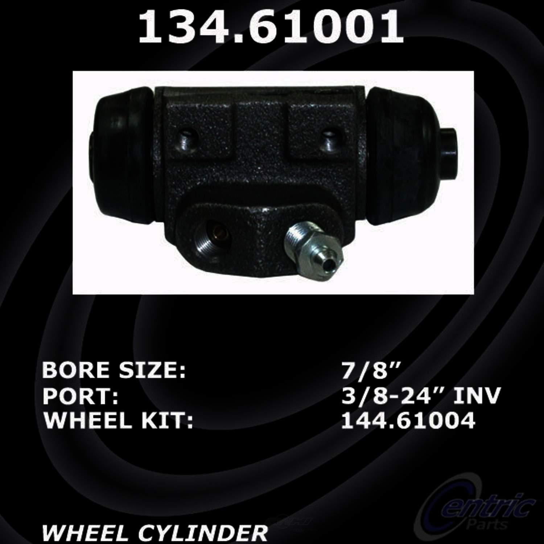 CENTRIC PARTS - Premium Wheel Cylinder-Preferred (Rear Right) - CEC 134.61001