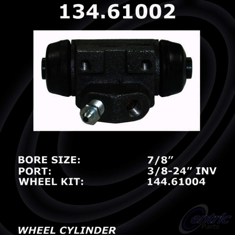 CENTRIC PARTS - Premium Wheel Cylinder-Preferred (Rear Left) - CEC 134.61002