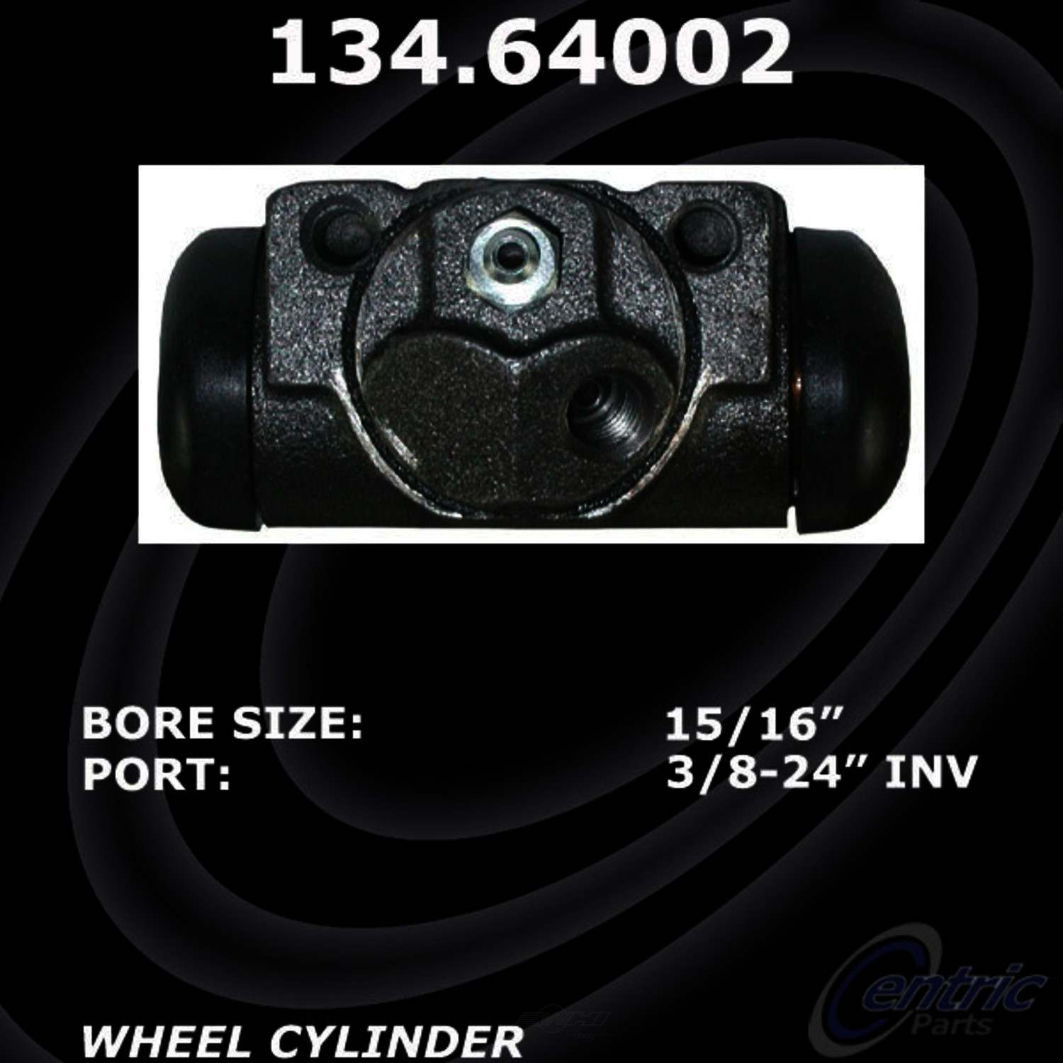 CENTRIC PARTS - Premium Wheel Cylinder-Preferred (Rear Right) - CEC 134.64002
