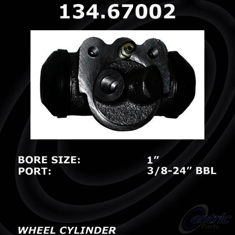 CENTRIC PARTS - Premium Wheel Cylinder-Preferred - CEC 134.67002
