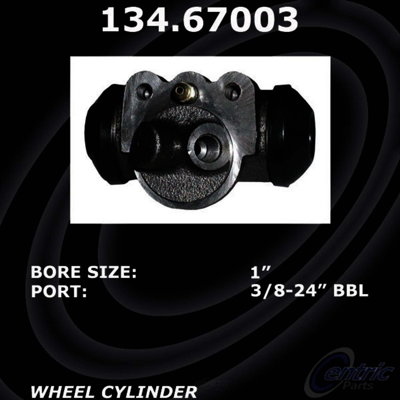 CENTRIC PARTS - Premium Wheel Cylinder-Preferred - CEC 134.67003