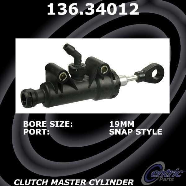 CENTRIC PARTS - Premium Clutch Master Cylinders - CEC 136.34012