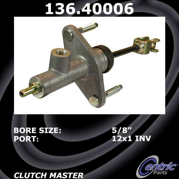 CENTRIC PARTS - Premium Clutch Master Cylinders - CEC 136.40006