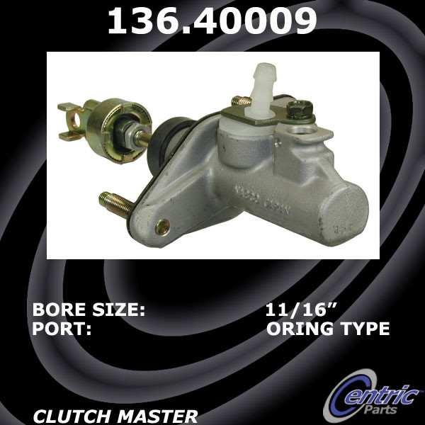 CENTRIC PARTS - Centric Premium Clutch Master Cylinders - CEC 136.40009