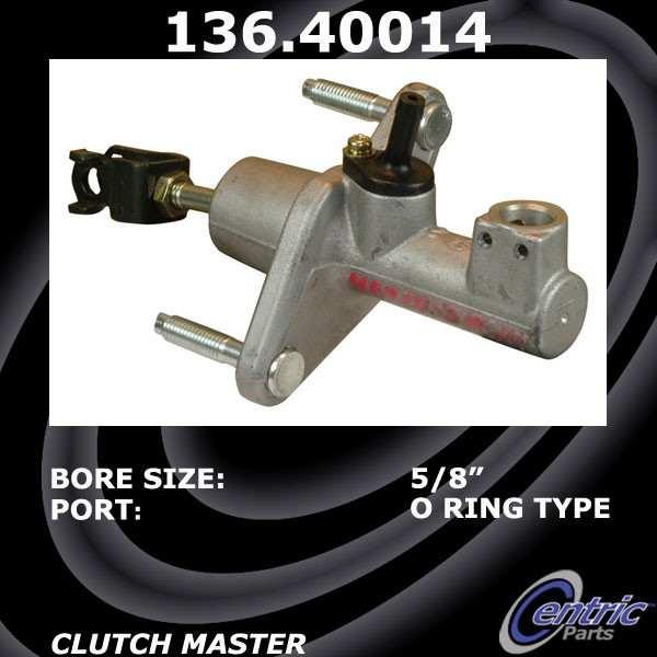 CENTRIC PARTS - Clutch Master Cylinder - CEC 136.40014