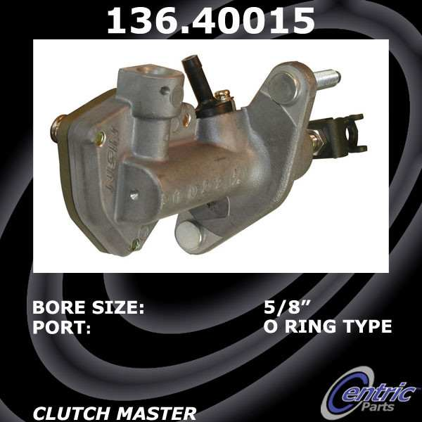 CENTRIC PARTS - Premium Clutch Master Cylinder-Preferred - CEC 136.40015