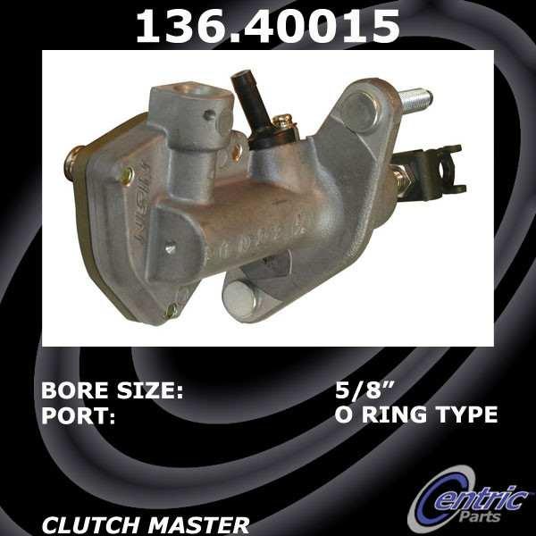CENTRIC PARTS - Premium Clutch Master Cylinders - CEC 136.40015