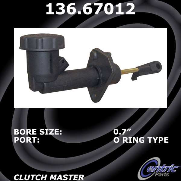 CENTRIC PARTS - Premium Clutch Master Cylinder-Preferred - CEC 136.67012