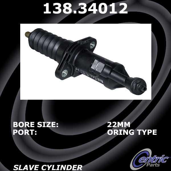 CENTRIC PARTS - Premium Clutch Slave Cylinder-Preferred - CEC 138.34012