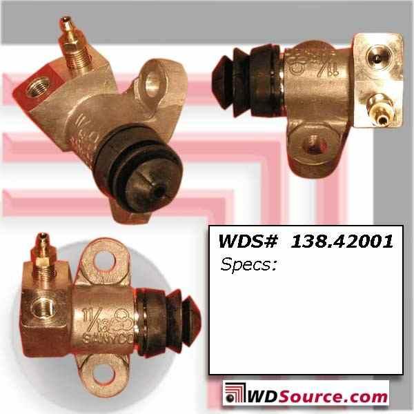 CENTRIC PARTS - Premium Clutch Slave Cylinder - CEC 138.42001