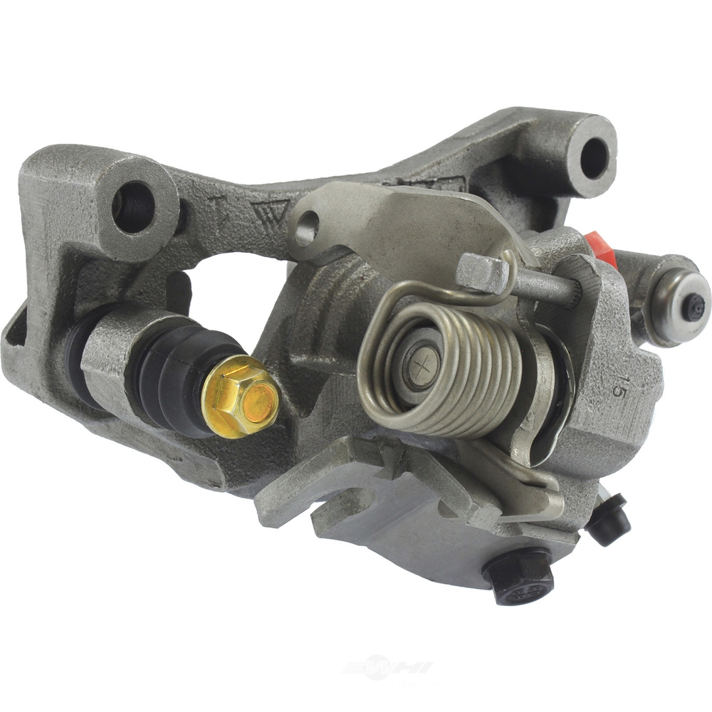CENTRIC PARTS - Premium Semi-Loaded Caliper Housing, Bracket, Cable Guide, Lever & Sprin (Rear Left) - CEC 141.44536
