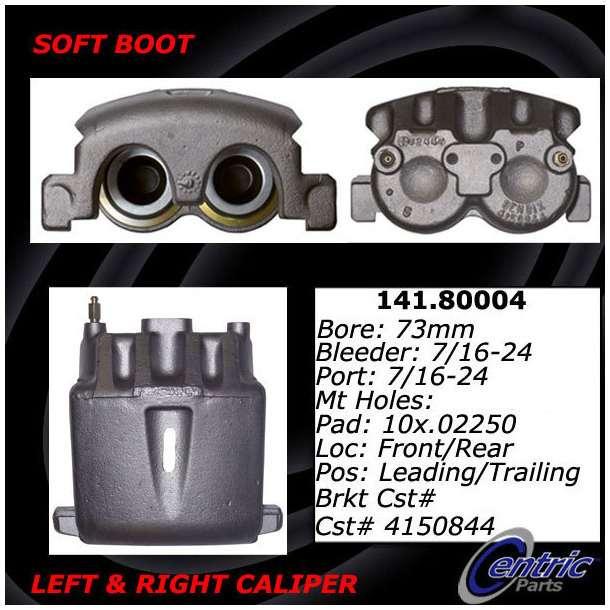CENTRIC PARTS - Premium Semi-Loaded Caliper-Preferred - CEC 141.80004