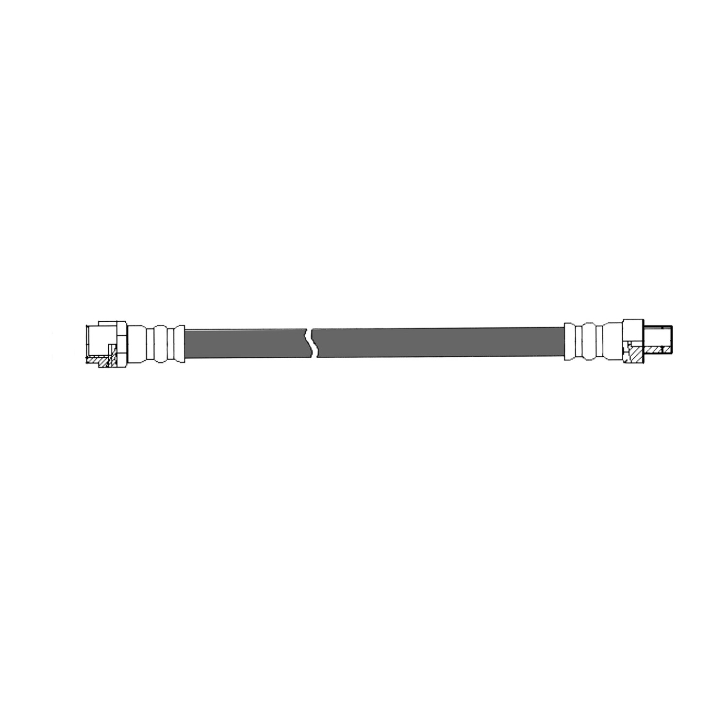 CENTRIC PARTS - Brake Hydraulic Hose (Front) - CEC 150.35014
