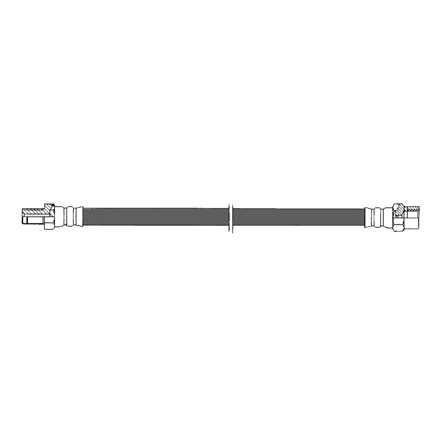 CENTRIC PARTS - Brake Hydraulic Hose (Rear) - CEC 150.35302