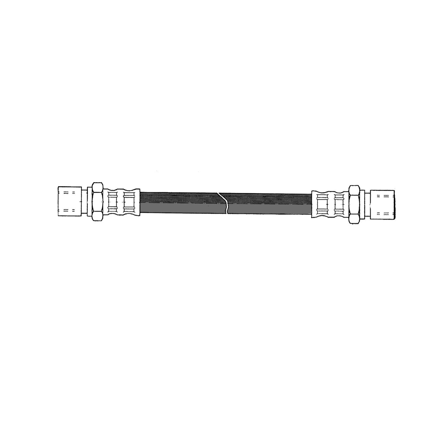CENTRIC PARTS - Brake Hydraulic Hose - CEC 150.36003
